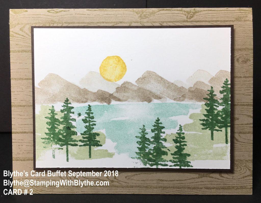 September 2018 Card Buffet, Card #2