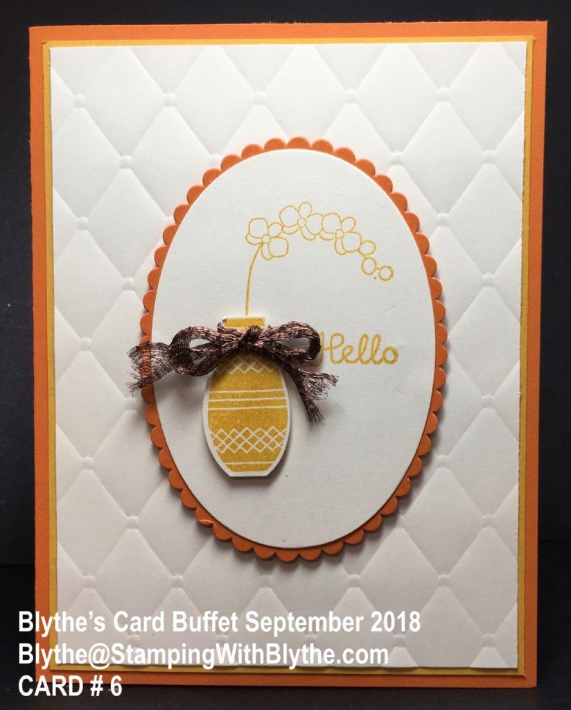 September 2018 Card Buffet, Card #6