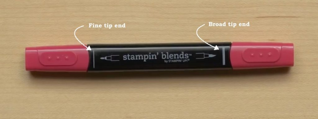Using Stampin' Blends