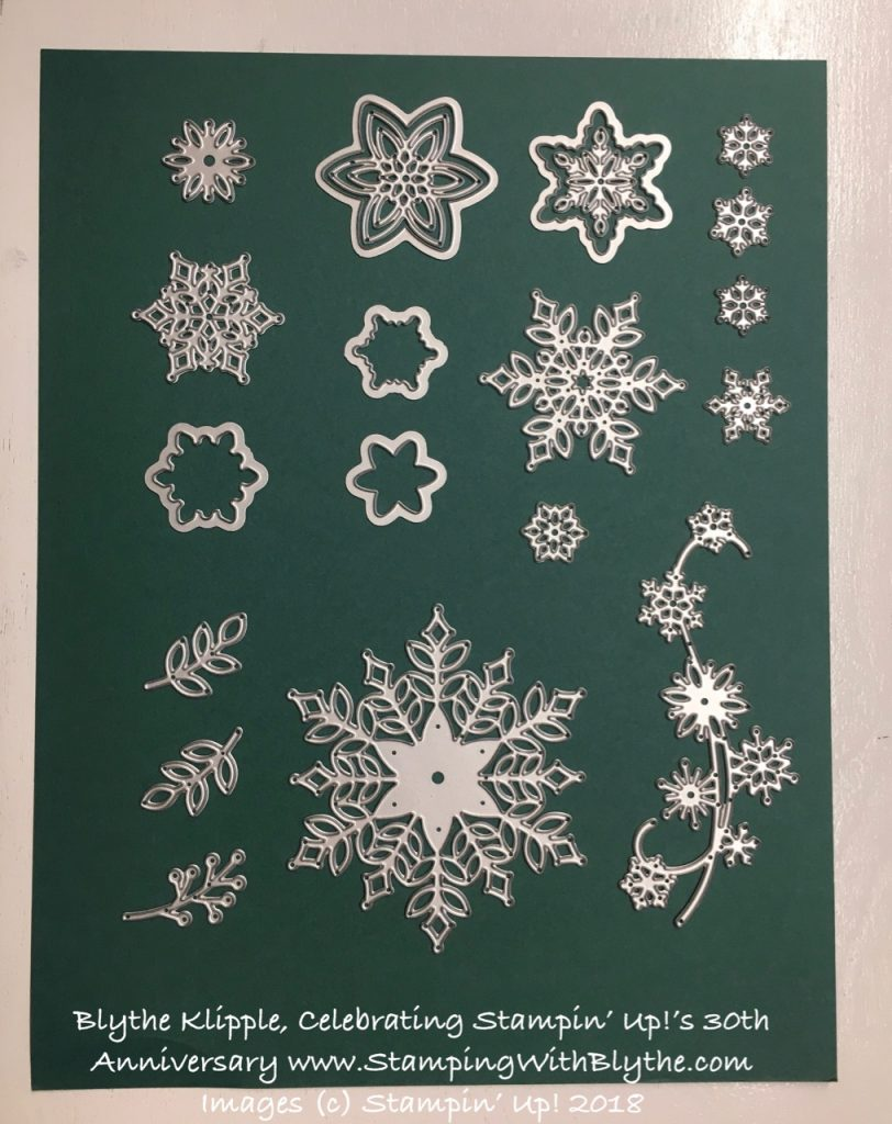 stamp a snowflake product suite