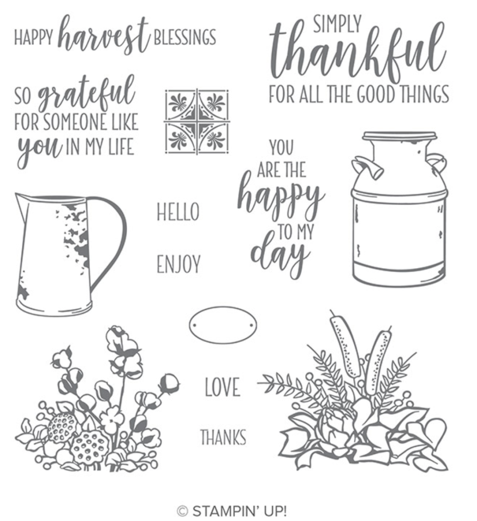 Home Décor and a Stampin' Up! Stamp Set