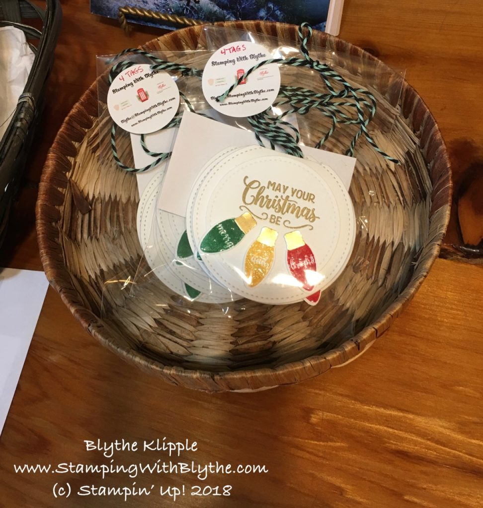 Cheery and Bright Holiday Gift Tags
