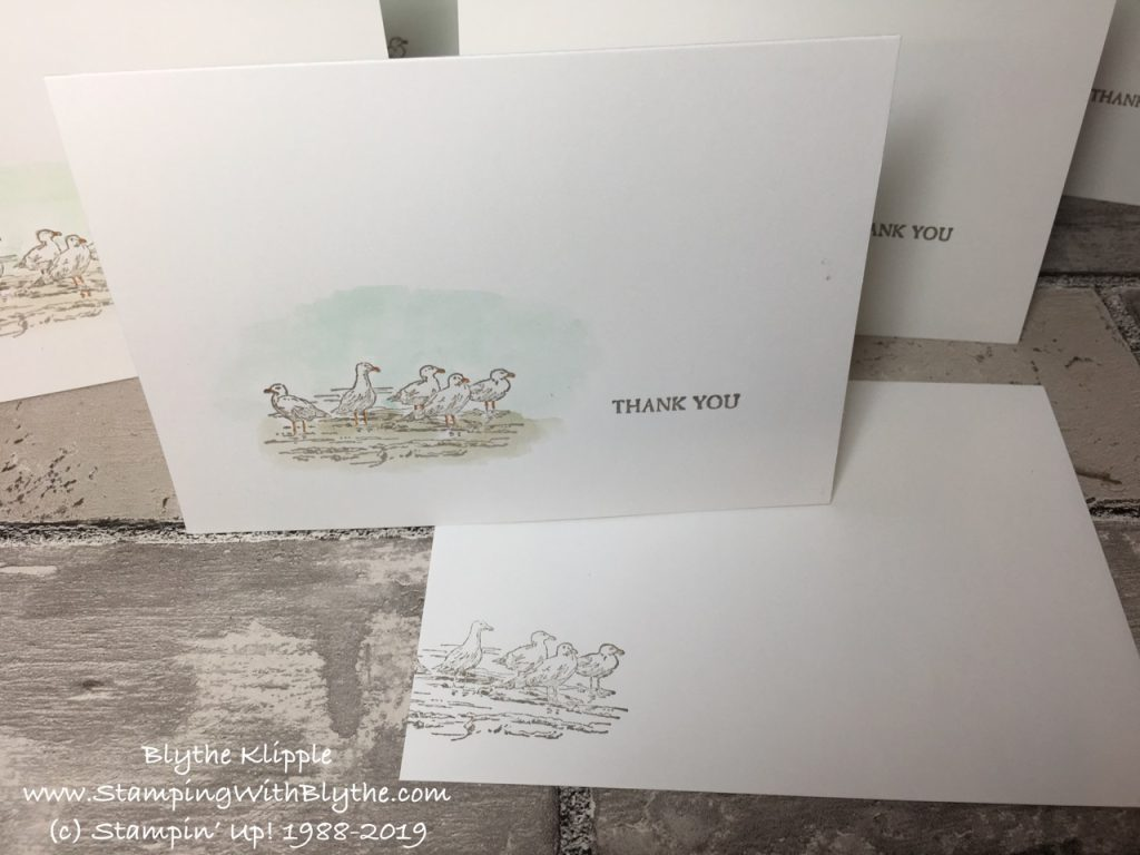 By the Bay Thank You Note Card