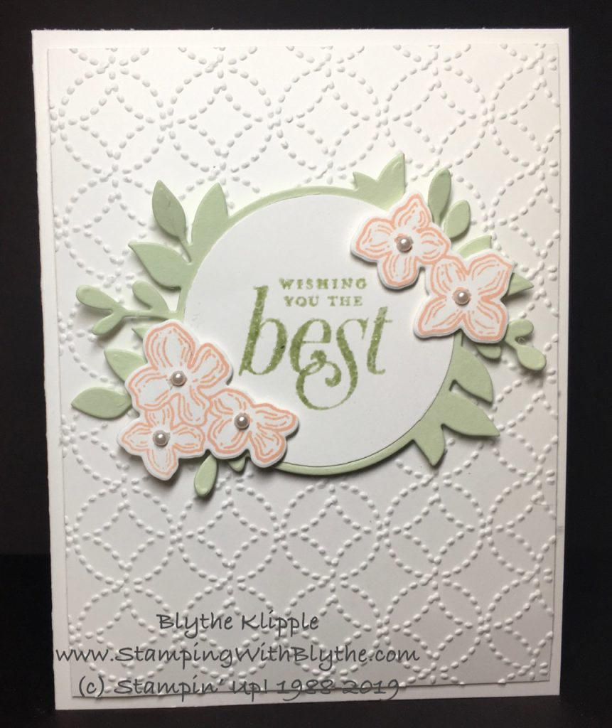 Wishing You the Best Wedding Card