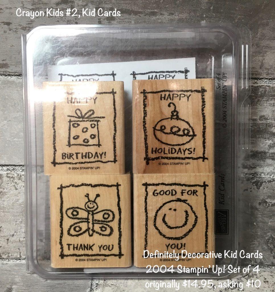 Crayon Kids #2, Kid Cards