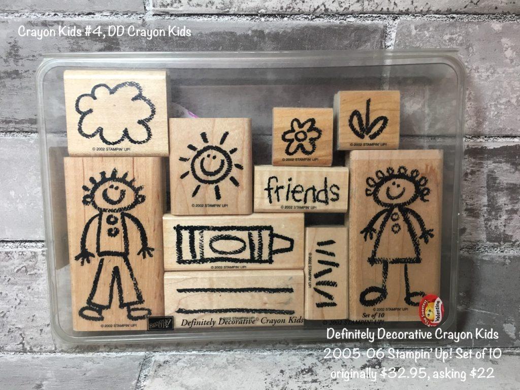 Definitely Decorative Crayon Kids #4