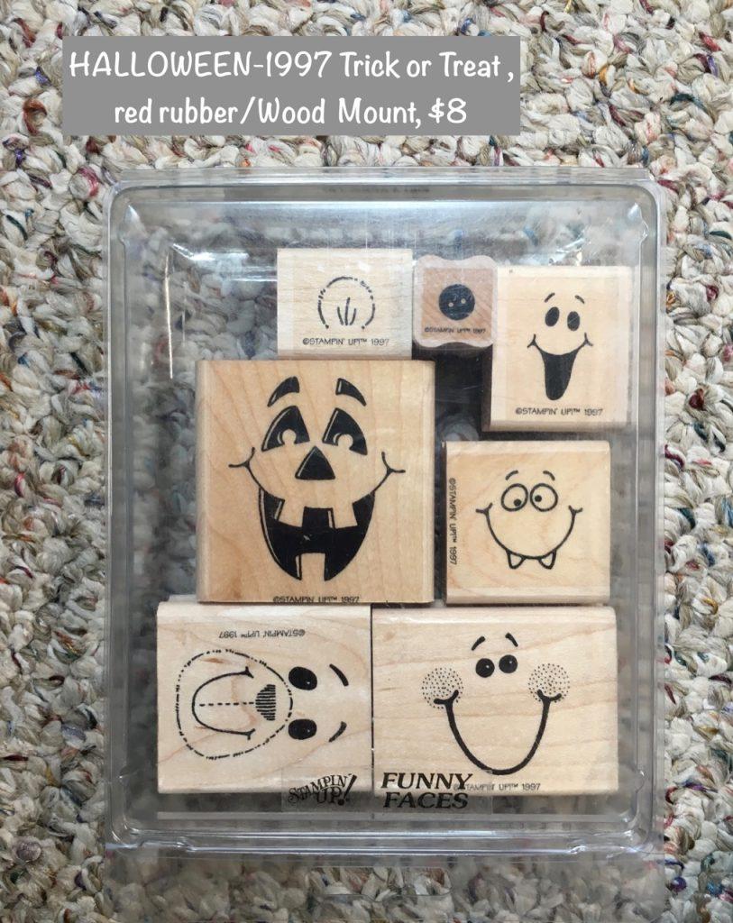HALLOWEEN 1997 Bitty Boos, $8