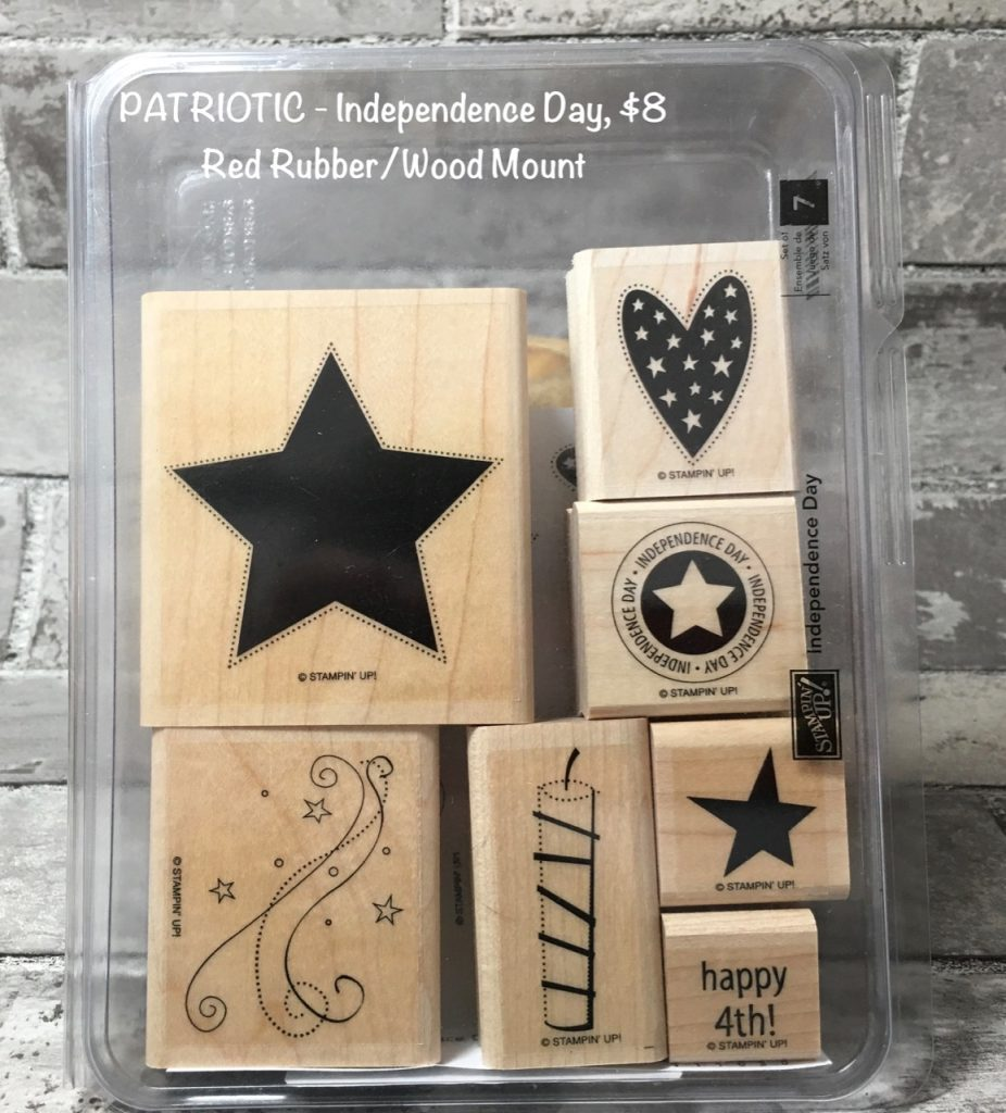 Independence Day Stamp Set, 7 stamps, $8