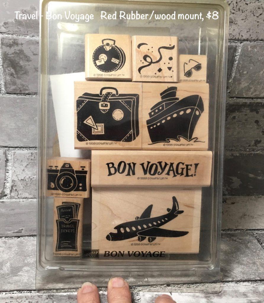 Travel #1, Bon Voyage, Vintage Stampin' Up! 1999-2000