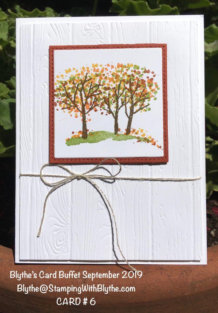 Blythe's September 2019 Card Buffet, card 6