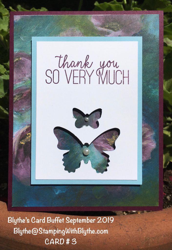 Blythe's September 2019 Card Buffet, card 3