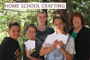 home school crafting