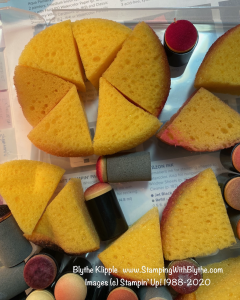 Stamping Sponge preparation