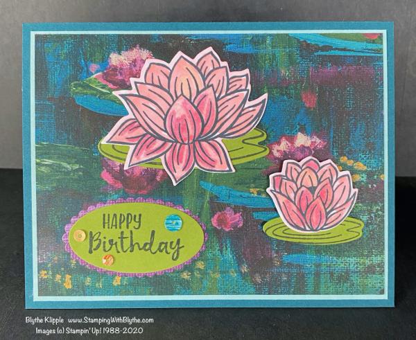 Lily Pad Happy Birthday