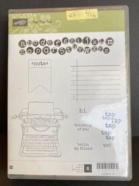 Tap Tap Tap stamp set
