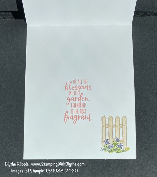 Grace's Garden stamp set