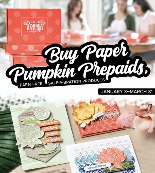 Buy Paper Pumpkins Prepaids!