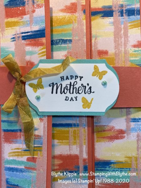 Follow Your Art Mother's Day card