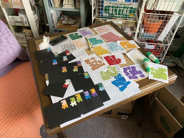 Sixteen shades of SU! card stock