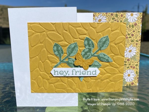 Card two, hey, friend