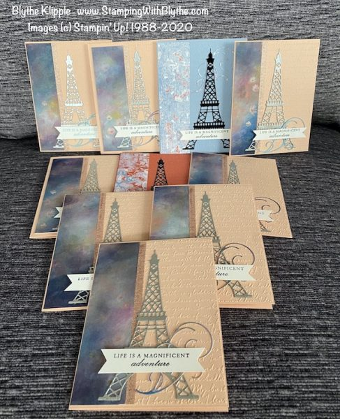 Parisian greeting cards
