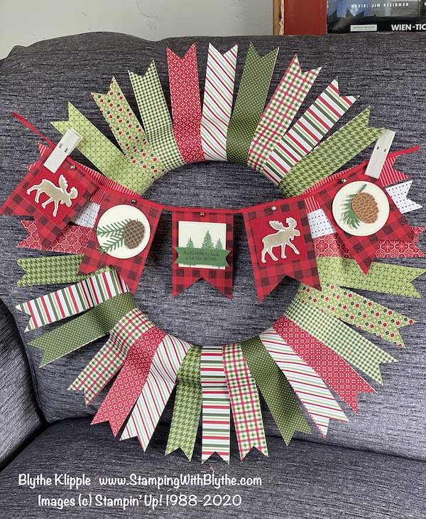 Christmas DSP Wreath