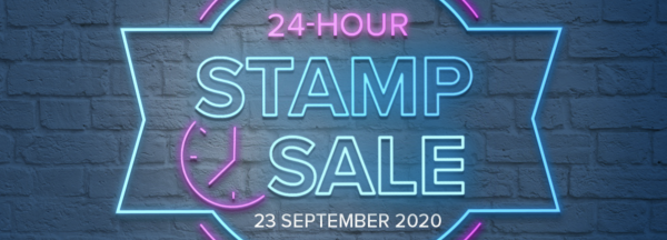24 hour stamp sale!