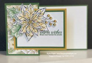Poinsettia Petals Mystery card #1
