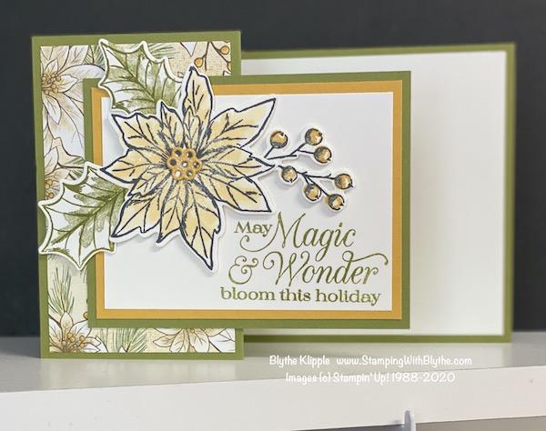 Poinsettia Petals Mystery card #2