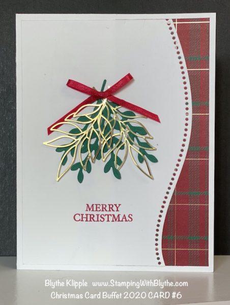 CHRISTMAS CARD BUFFET CARD #6