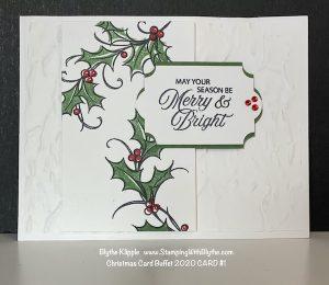 CHRISTMAS BUFFET CARD #1