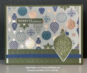 CHRISTMAS CARD BUFFET CARD #2