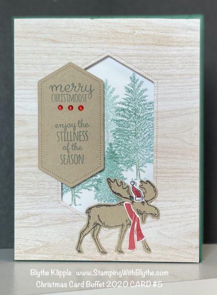 CHRISTMAS CARD BUFFET CARD #5
