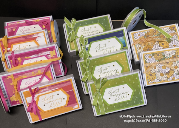 Note Card gift box set of 6 cards