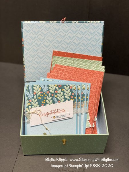 Gift Box of cards