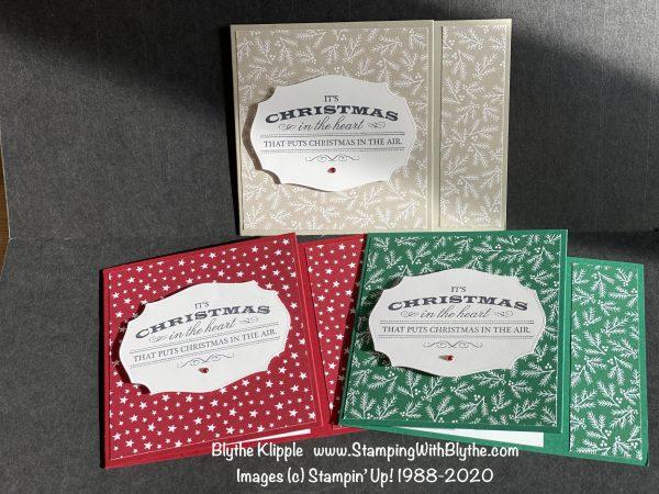 """Curvy Bundle 6"""" x 6"""" DSP Gift Card Trio"""