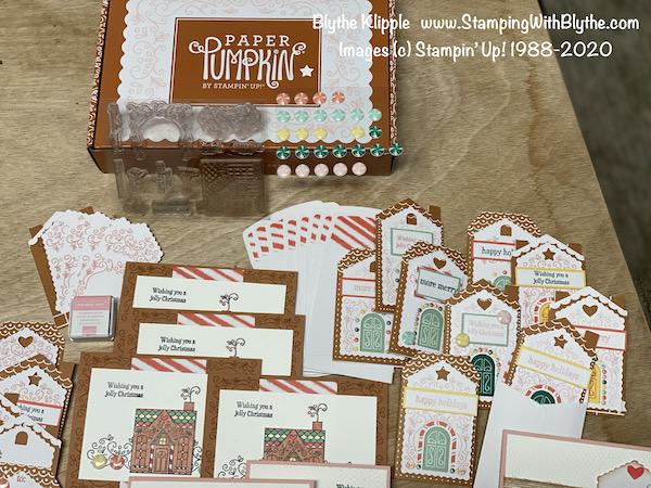 November 2020 Paper Pumpkin Kit - Jolly Gingerbread