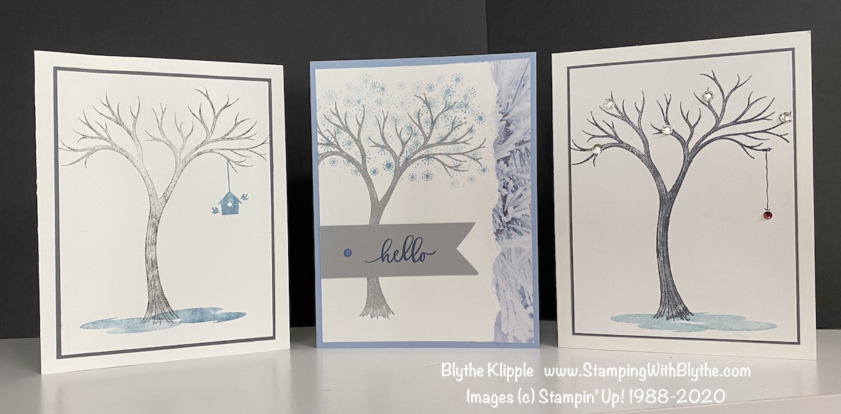 Trio of Life is Beautiful cards