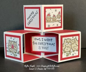 Merry Christmas have a hoot Blocks