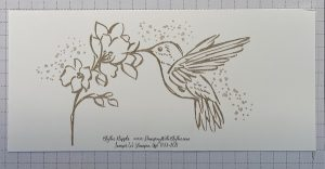 Add the scattered array of dots to the card front