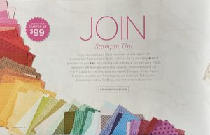 Join Stampin' Up! now!