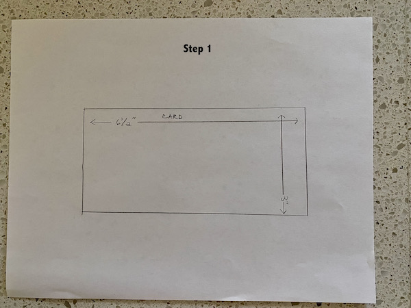 Step 1 Slim Line Envelope