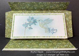 Hummingbird Slim Line Card