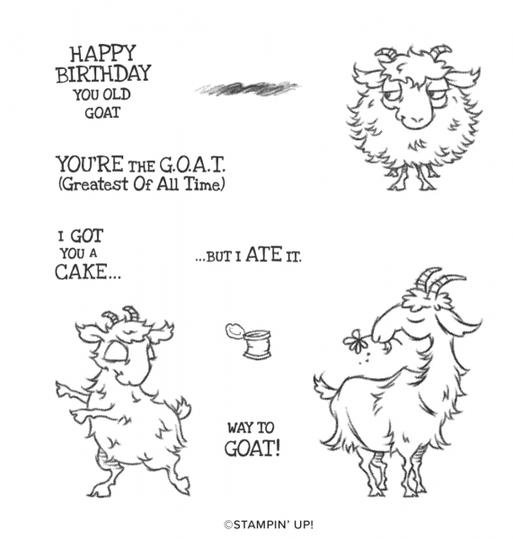 Way to Goat stamp set
