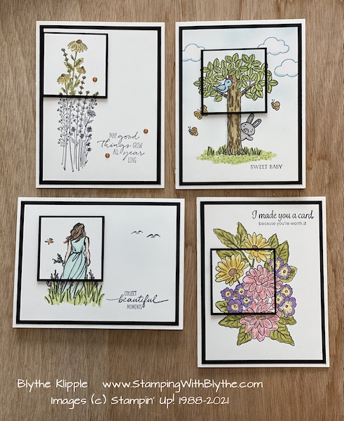 MYSTERY CARDS #1-4