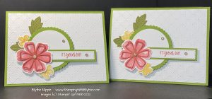 Make two cards...one to keep for a prototype and one to send to some lucky person