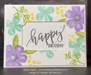 Pretty Perennials - HAPPY BIRTHDAY