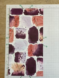 Fun fold fancy pleat card scoring/cutting guide