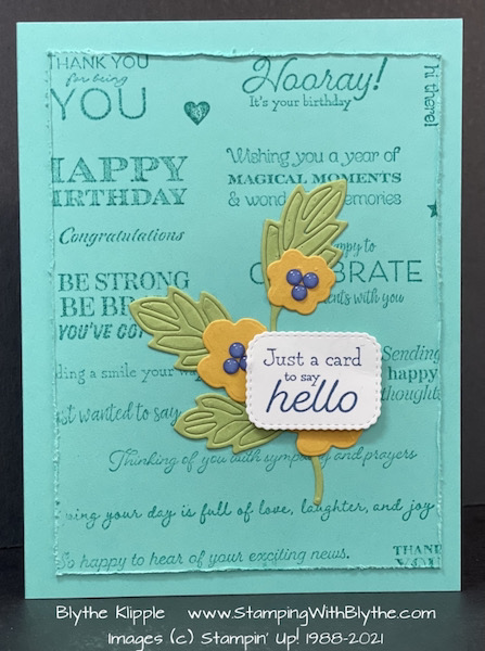 Many Messages Stamp Set & Die