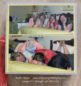Blythe, Sue, Janet, Katie